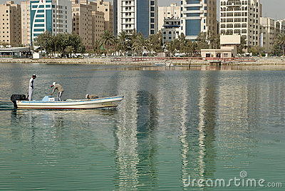 Fishermen in Bahrain