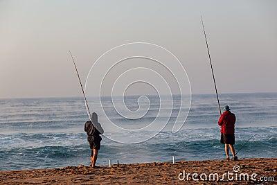 Fishermen Beach Holidays Editorial Photography