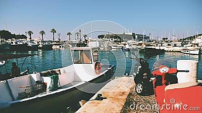 Fishermen' porto di s in cassis archivi video