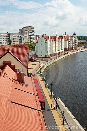 Fishers Village in Kaliningrad