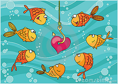 Fishes and heart