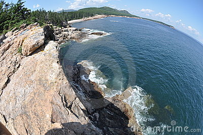 Fisheye cliffs