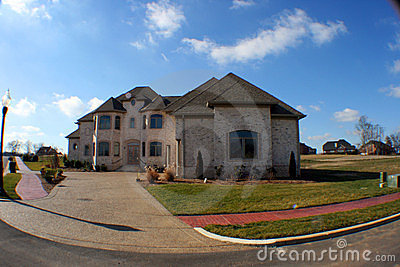 Fisheye dream home