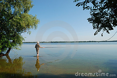 Fishing Royalty Free Stock Image - Image: 7473466