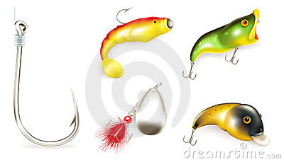 Fishing Bait set