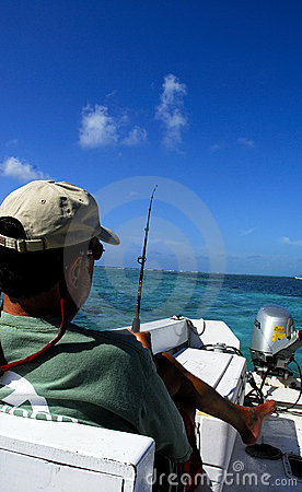 Fishing in belize central america