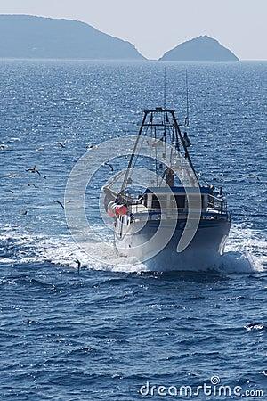 Free Fishing Boat Royalty Free Stock Photography - 10290117
