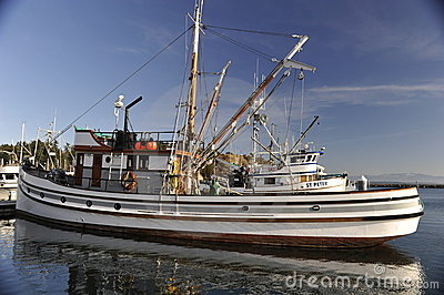 Fishing Boat Editorial Stock Image