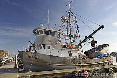 Fishing Boat Editorial Photo