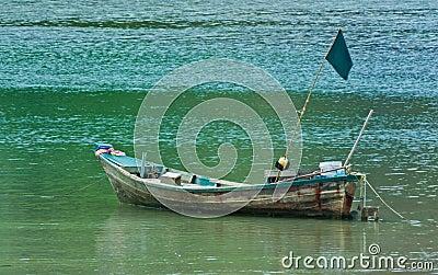 The fishing boat