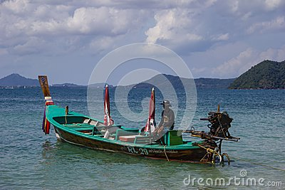A fishing boat Editorial Image
