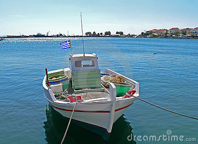 Greek Fishing-boat