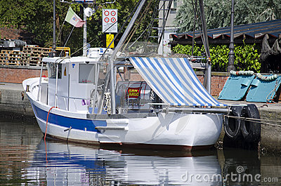 Fishing boat in Italy Editorial Stock Photo