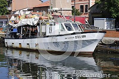 Fishing boat Editorial Stock Photo
