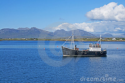 Fishing Boat in Connemara