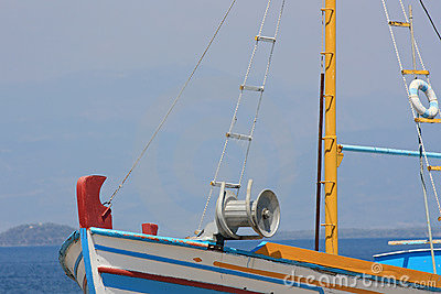 Fishing Boat Detail