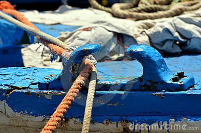 Fishing boat, details
