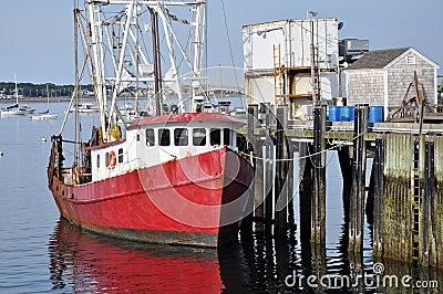 Fishing boat at the dock