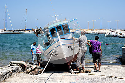 Fishing boat Editorial Image
