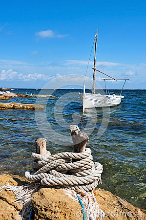 Fishing boat in Formentera, Balearic Islands