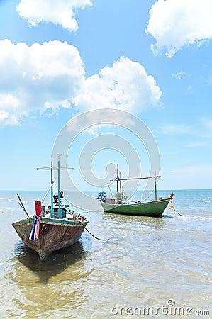 Fishing Boat, Hua-Hin Thailand