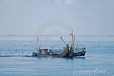 Fishing boat Nord Sea