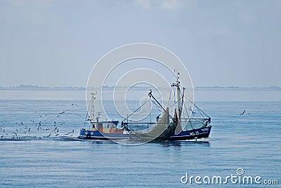 Fishing boat Nord Sea