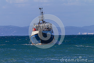 Fishing Boat Ocean Cape St.Francis Editorial Image