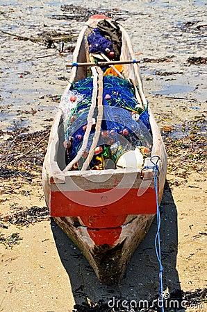 Fishing boat ready to go, Zanzibar