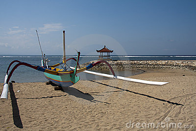 Fishing boat, Sanur
