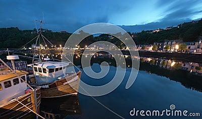 Fishing boat at Tobermory Quay