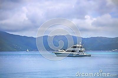 Fishing boat in the tropics