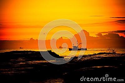 Fishing boat, Wollongong