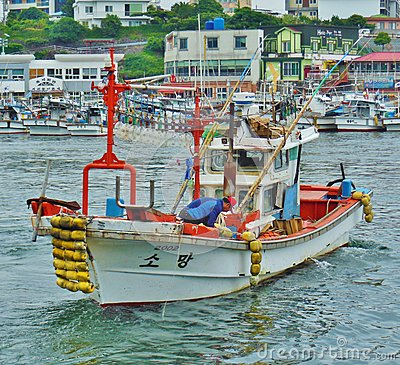 Free Fishing Boats 001 Royalty Free Stock Image - 54455996