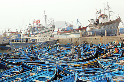 Fishing boats Editorial Photo