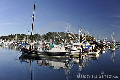 Fishing Boats Editorial Stock Photo