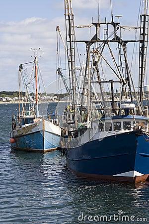 Free Fishing Boats Royalty Free Stock Photos - 7959688