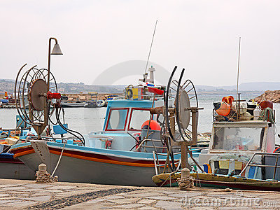 Fishing Boats in Agia Napa
