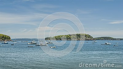 Fishing Boats at Bar Harbor Maine