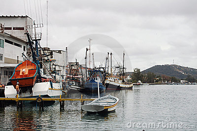 Fishing boats Cabo-Frio Brazil