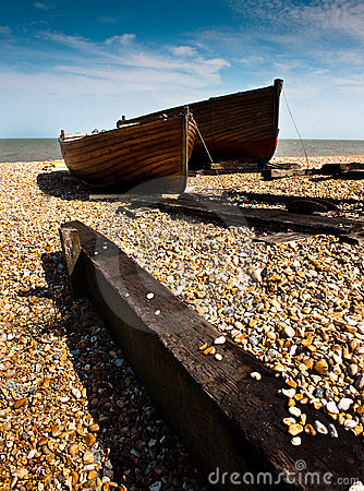 Fishing boats, Deal, Kent