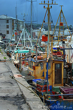 Fishing Boats docked