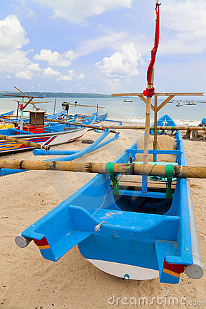 Fishing Boats, Jimbaran Beach, Bali, Indonesia