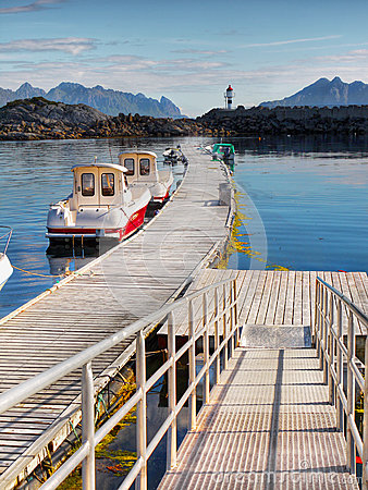 Free Fishing Boats, Lofoten Stock Photos - 44771763