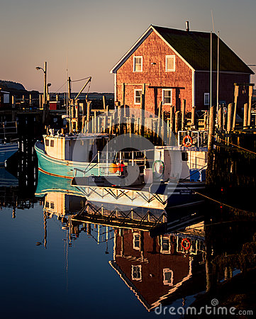 Free Fishing Boats Nova Scotia Stock Image - 82840481