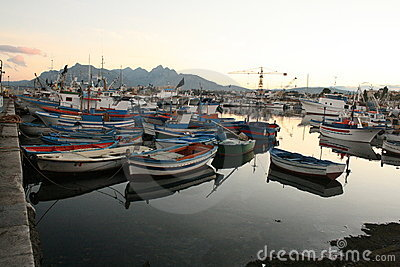 Fishing boats, Port View 23