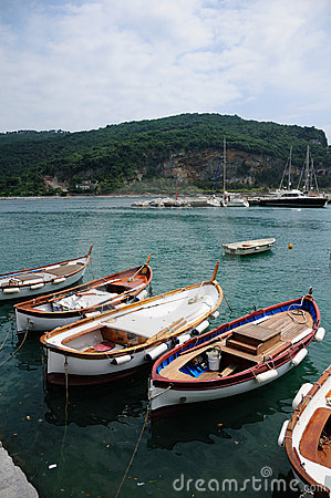 Fishing boats, Portovenere, Italy