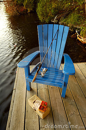 Fishing Chair On Deck