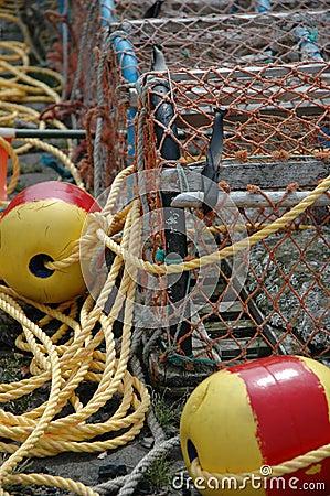 Free Fishing Creels Royalty Free Stock Photo - 330005