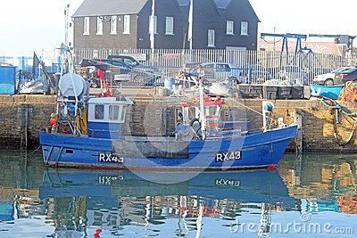 Fishing Harbour Editorial Photo